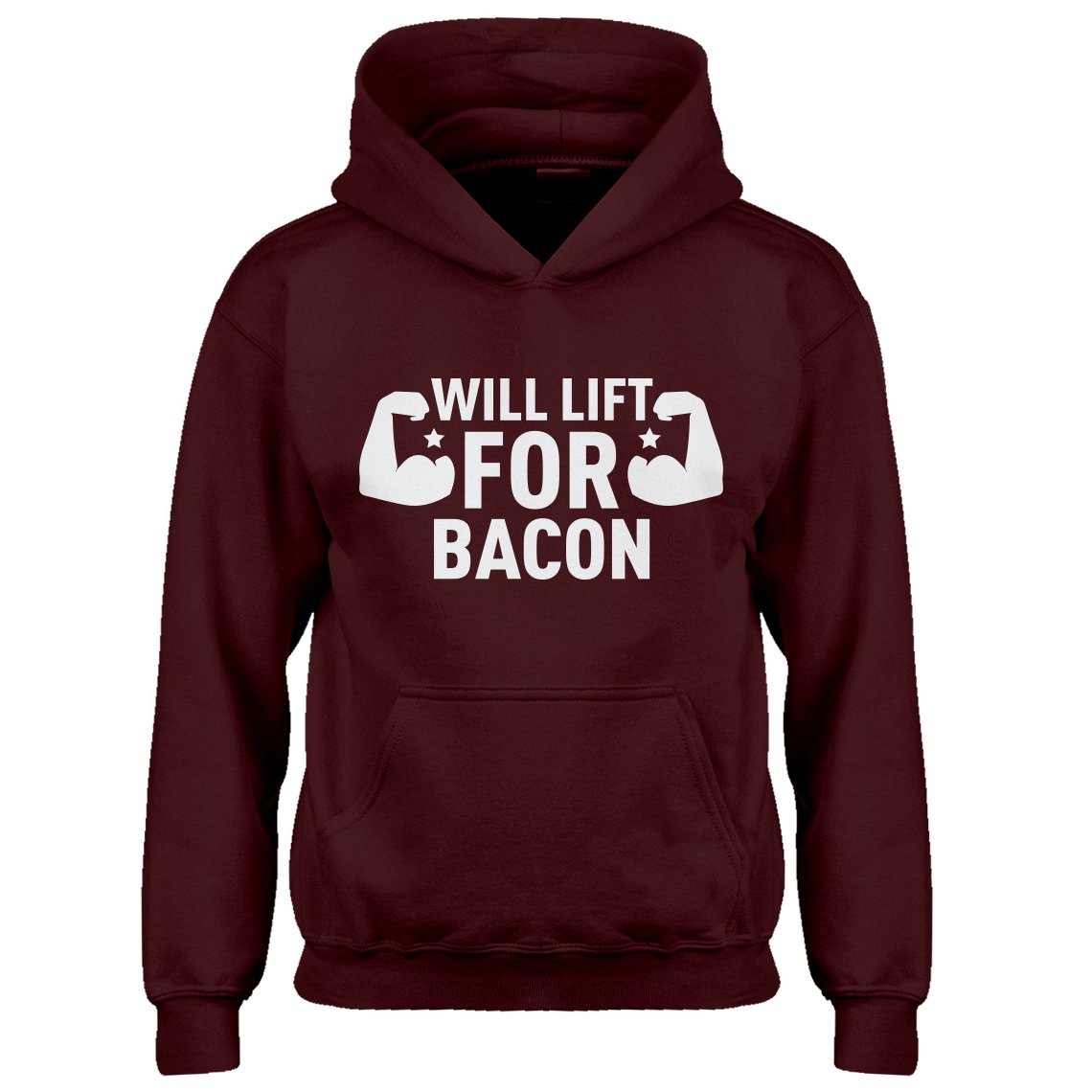 Indica Plateau Youth Will Lift for Bacon Kids Hoodie