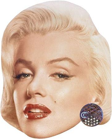 Marilyn Monroe - Máscara de Celebridad, Cara de Tarjeta y máscara ...