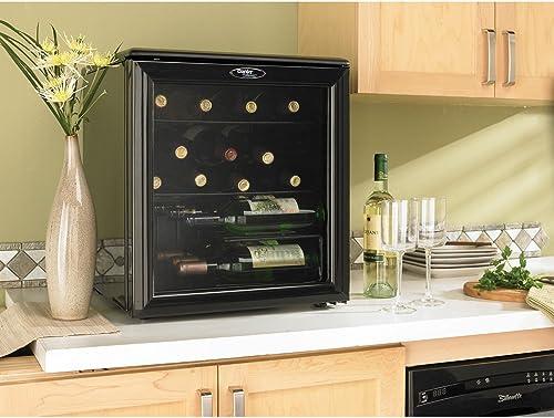 Danby DWC172BL 1.8-Cu.Ft. 17-Bottle Counter-Top Wine Cooler