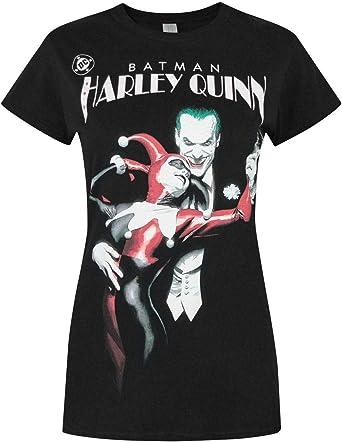 Batman Harley Quinn Womens T-Shirt