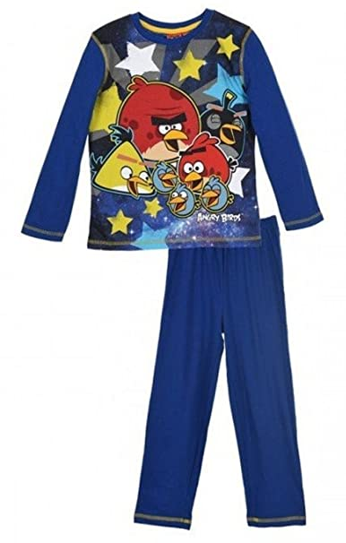 Rovio Entertainment - Pijama dos piezas - Manga Larga - para niño azul 4 años