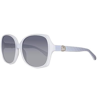 Swarovski Damen Sonnenbrille SK0017-5826B, Transparent (Crystal/Gradient Smoke), 58