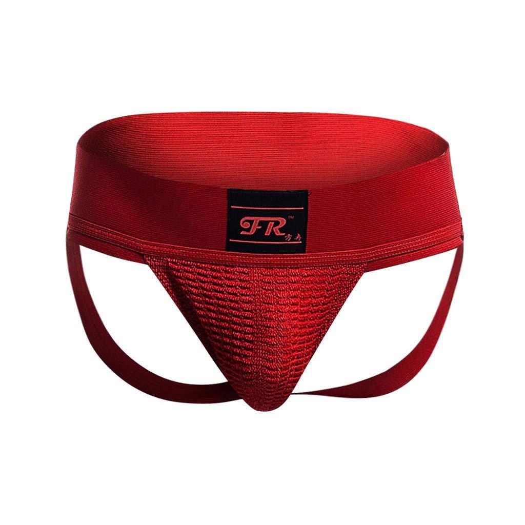 Fashion JERFER Men Sports Underwear Doubles Underwear Underwear