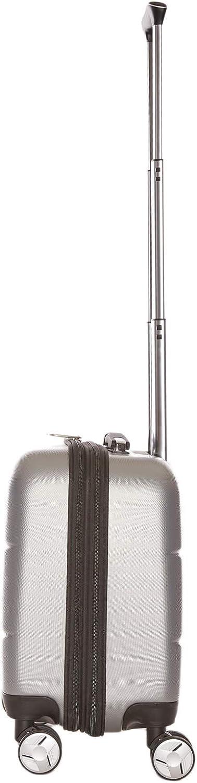 Valise daffaires Bagage 4 roulettes Doubles 360/° pour Ordinateur Portable et des Documents Taupe Pilot Case Rigide 44 CM Sacoche /à roulettes Trolley Cabine LYS