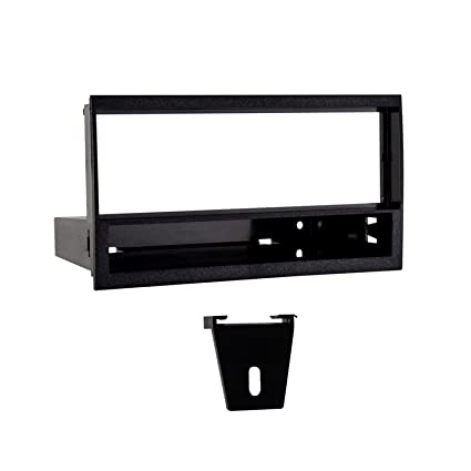 amazon com: metra 99-5800 installation kit w/pocket for select 1996-1998 ford  f-150/expedition vehicles (black): car electronics
