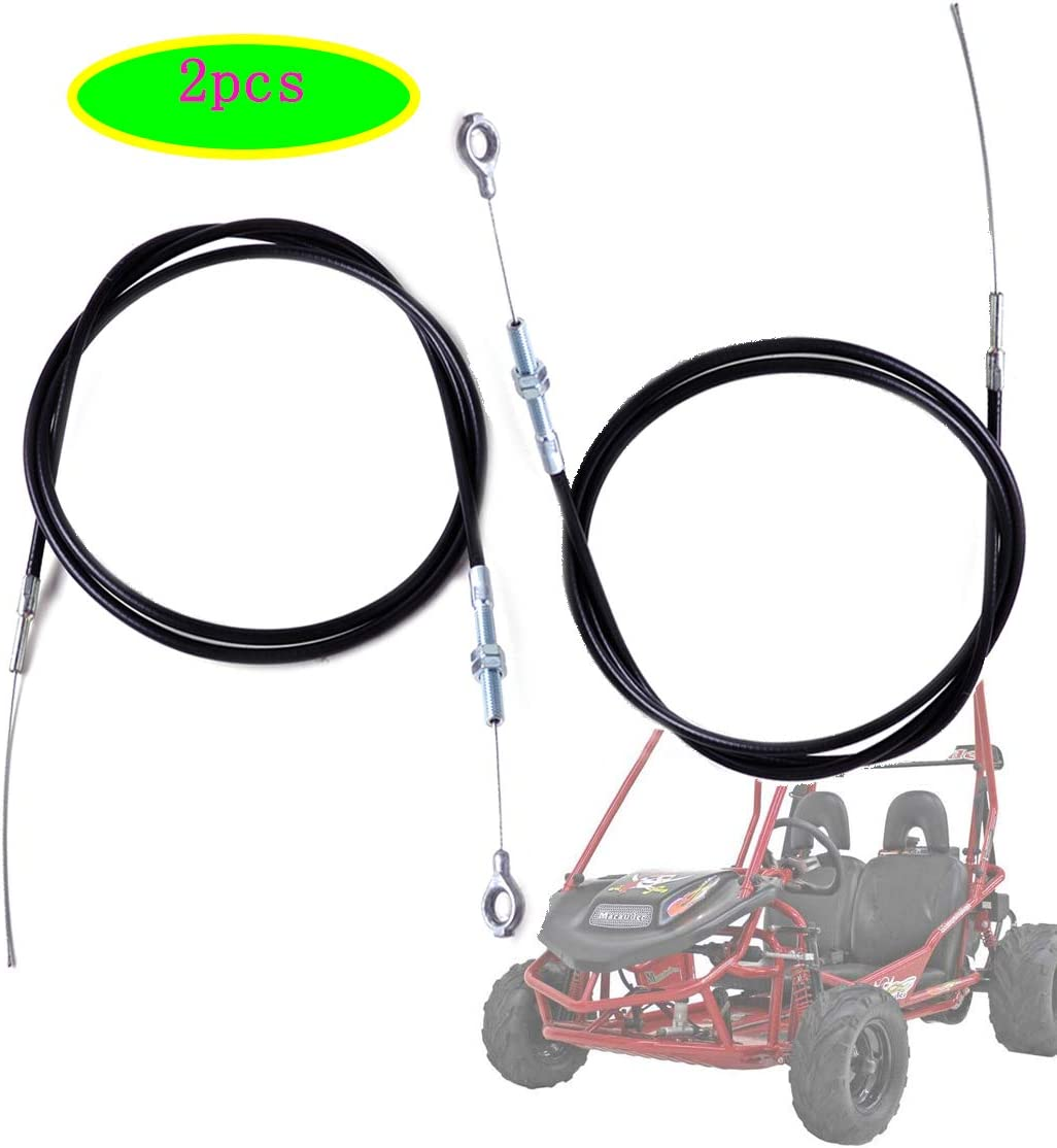 63 Long Inner Wire 71 inch Long by NAKAO Universal Throttle Cable for Manco Go Kart 8252-1390 Go Cart 2 throttle cable Throttle Cable for Go Kart