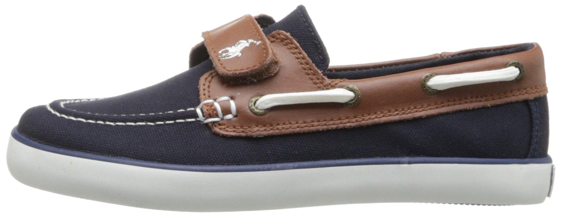 Polo Ralph Lauren Kids Sander-CL EZ Sneaker ,Navy,10.5 M US Little Kid by Polo Ralph Lauren (Image #5)