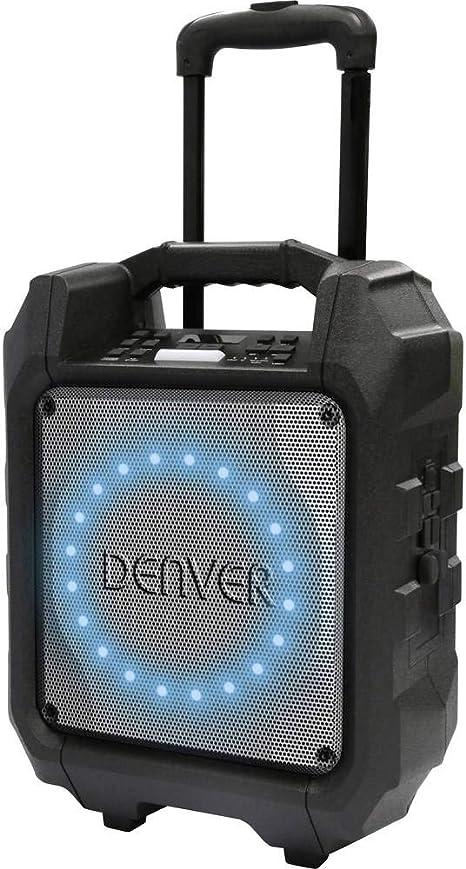 Denver TSP-305 Altavoz Bluetooth de 6,5