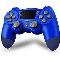 Maegoo Draadloze controller voor P4, Bluetooth Controller P4 Gamepad Joystick voor P4/Slim/Pro, P4 Game Controller met…