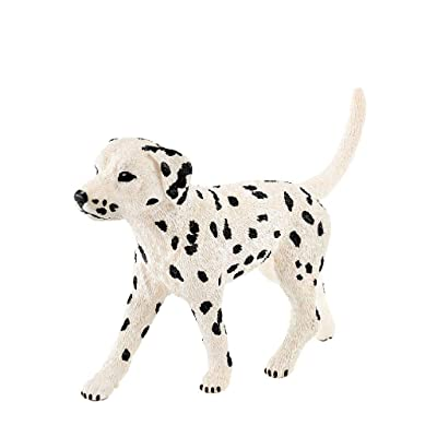 Schleich Farm World Dalmatian Male Educational Figurine for Kids Ages 3-8: Schleich: Toys & Games