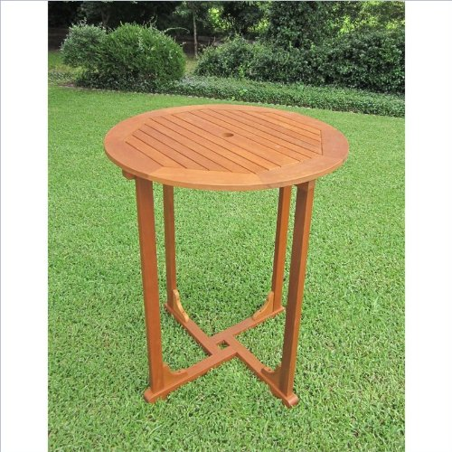 Pemberly Row Outdoor Patio Pub Table
