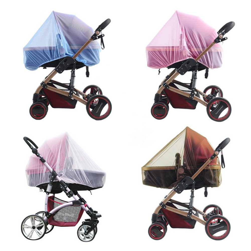 Mosquito Net for Pushchairs iSuper Universal Insect Net for Buggies, Travel Cot, Tear-Proof Washable Insect Net, Sent at Random
