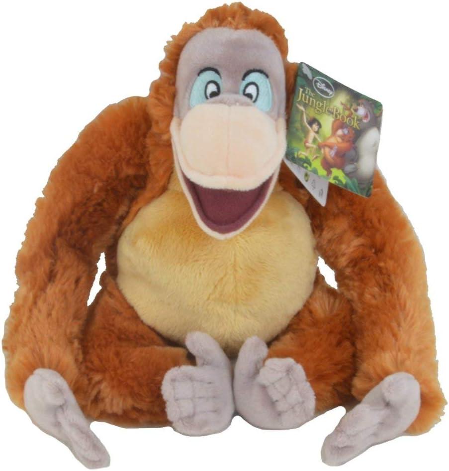 Disney Simba 6315874188 Libro de la Selva de Peluche King Louie 25cm
