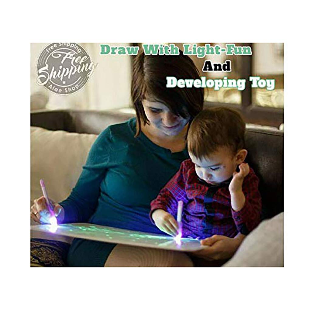 Draw with Light-Fun and Developing Toy by OBAAK