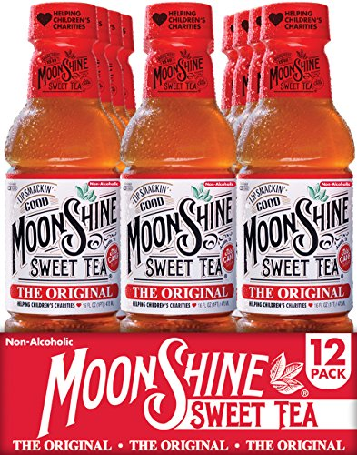 Moonshine Sweet Tea, Real Brewed Black Tea, The