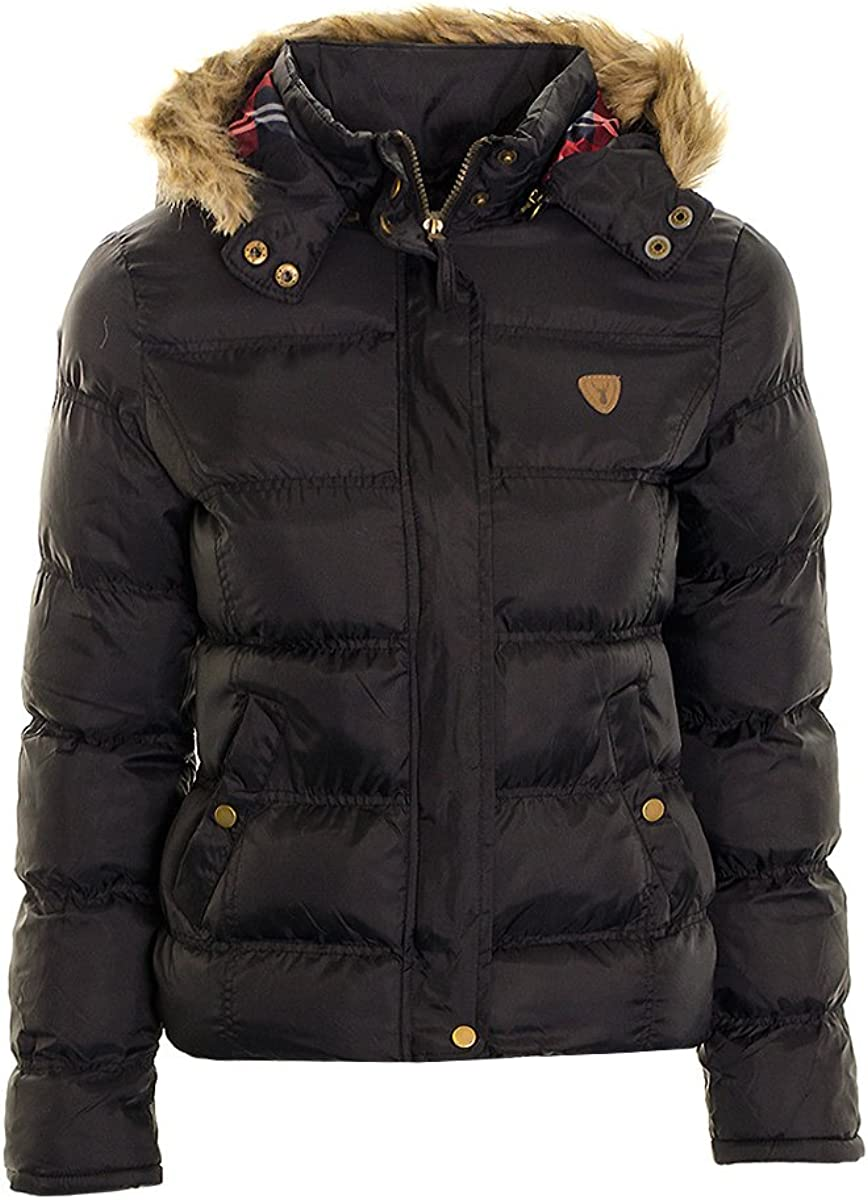 Womens New Size 12-24 Red Quilted Hooded Gilet Zip Poppers Jacket Ladies