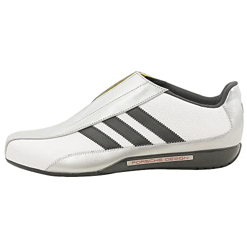 adidas Originals Mens Porsche Design CMF3 Shoe,White/Black/Silver,6.5 M