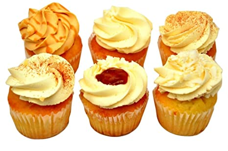 Brooklyn Cupcake, Latin Assortment, 6 pack: Amazon.com: Grocery & Gourmet Food