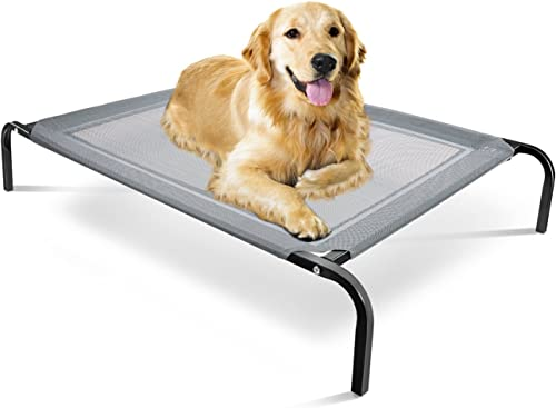Paws-&-Pals-Elevated-Dog-Bed