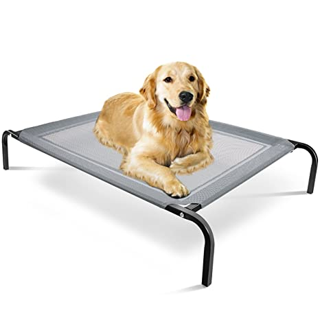 Amazon Com Elevated Dog Bed Raised Pet Cot In Or Out Door Cots