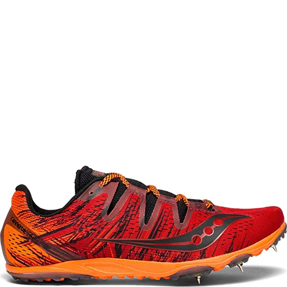 Zapatillas Athletic Zapatos Saucony Carrera XC Spike rojo