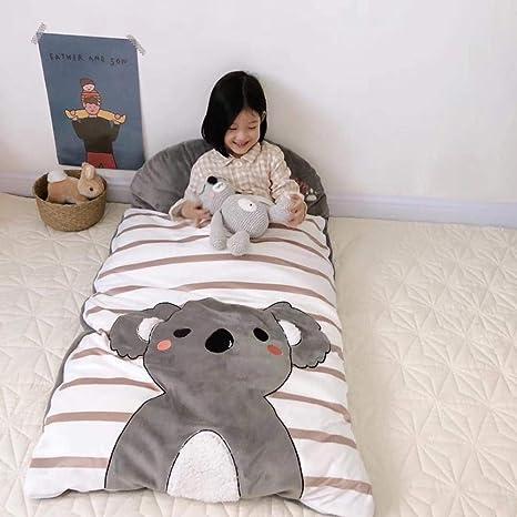 Saco de dormir para bebé unisex antideslizante piel de algodón habitación con aire acondicionado edredón de jardín de infantes para niños de cuatro estaciones al aire libre: Amazon.es: Bebé