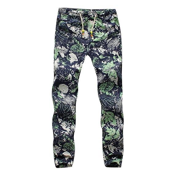 hibote Moda Pantalones para Hombre Jogging Fitness Deportivos ...