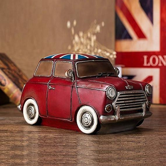 Amazon.com: MonLiya - Hucha retro para coche, diseño vintage ...