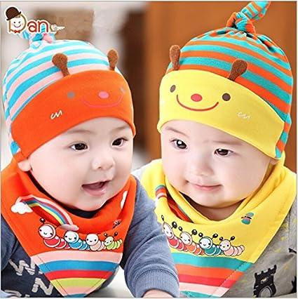 5b6a38585 Buy Generic blue : new 2017 newborn baby hat girls hats stripe ...