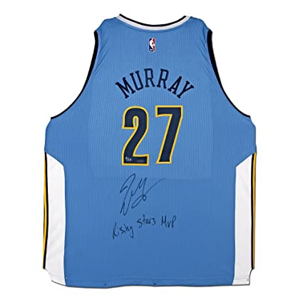 new arrival 254b3 af620 JAMAL MURRAY DENVER NUGGETS LIGHT BLUE SWINGMAN JERSEY ...