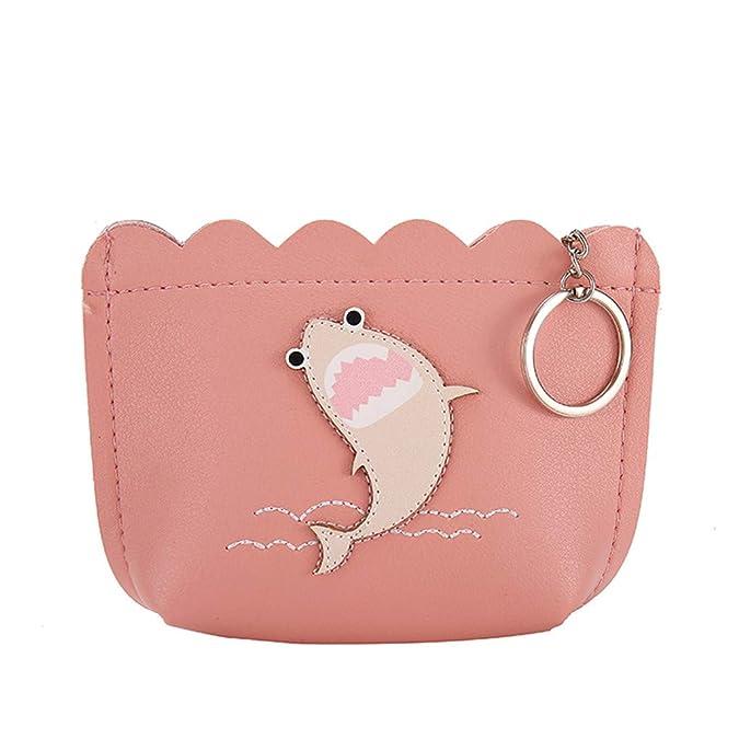 Amazon.com: Monedero pequeño con bolsillo para monedas, para ...