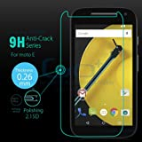 DRaX Tempered Glass Screen Protector For Motorola Moto E (2nd gen)