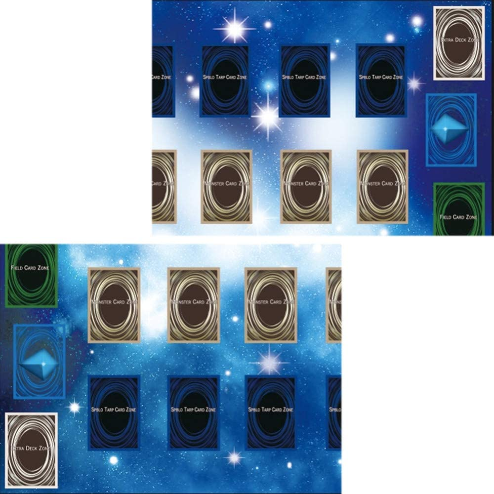 KINGWani Rubber Play Mat 60x60cm Galaxy Style Competition Pad Playmat For Yu-gi-oh Card