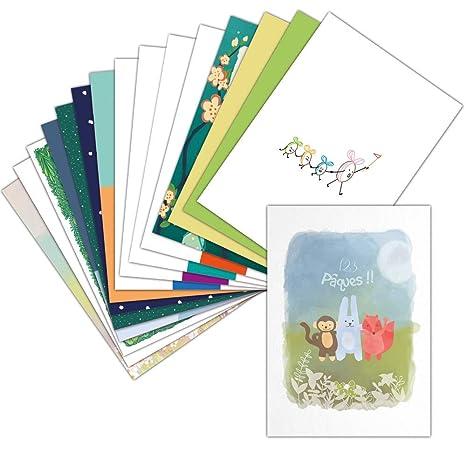 Carte Joyeuses P/âques /— Carte Postale /— 8 Cartes /— Carte La Couronne De P/âques Format Carte Postale ➽ Dispo en 3 Formats