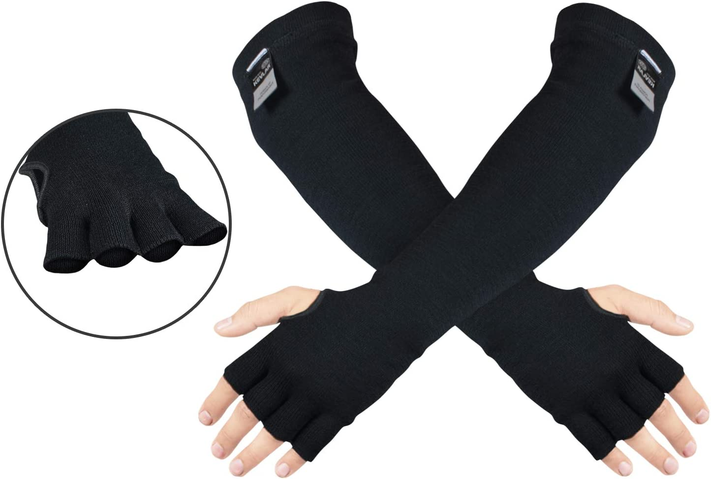 Safety Anti Heat Cut Resistant Sleeves Arm Guard Protector Gloves*