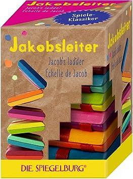 Spiegelburg Juguete Tradicional de Madera La Escalera de Gato La Escalera de Jacob Multicolor: Amazon.es: Juguetes y juegos
