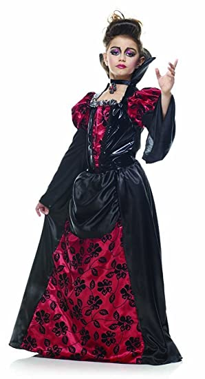 Rubies s it10033-l - Disfraz Regal Vampiresa niña M: Amazon.es ...