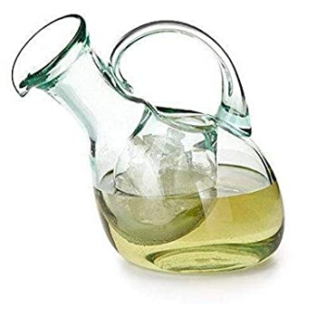 Kakalou Tilted Wine Decanter with Ice Pocket