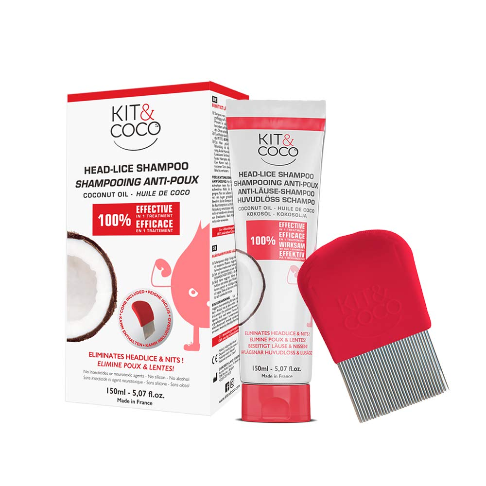 Head lice & nits complete treatment kit (150ml) Evergreen Land 8594179655120