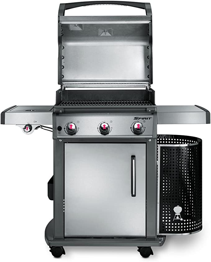 Weber 7182 premium afdekhoes Spirit (model 2018), zwart