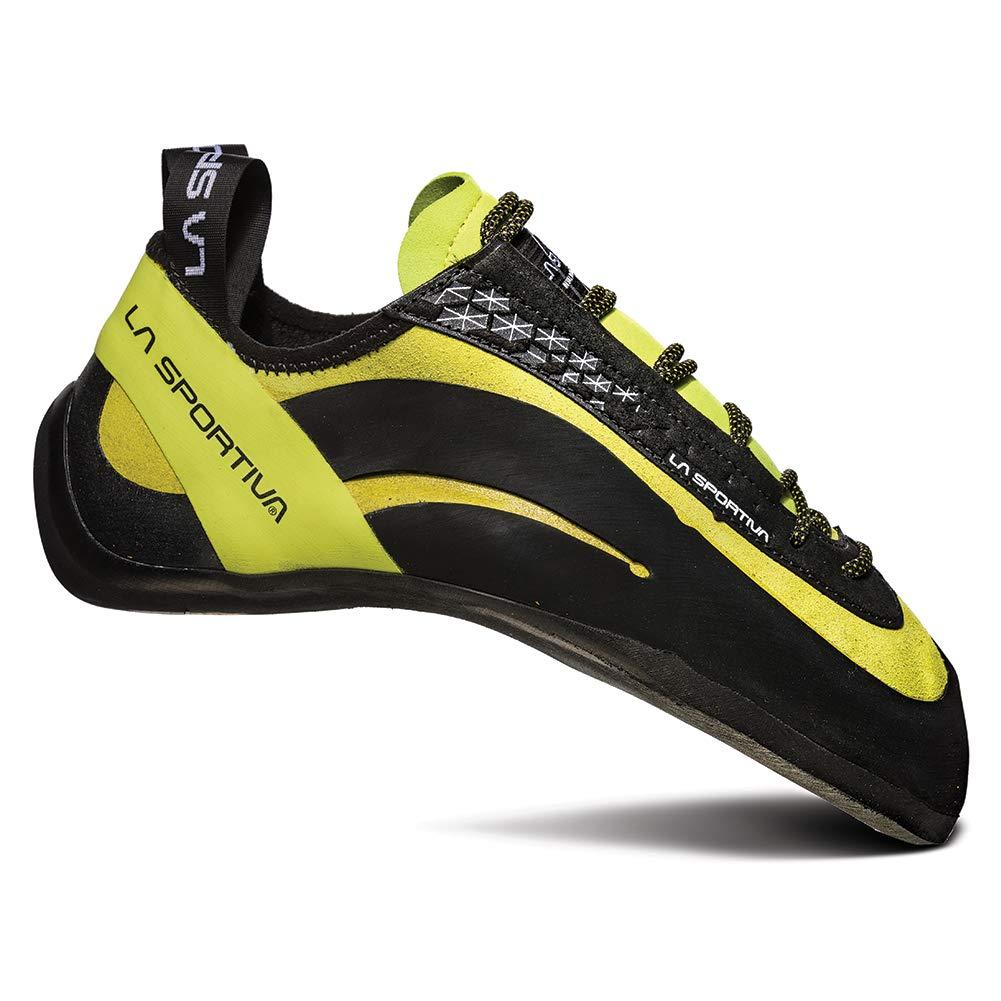 La Sportiva Men's Miura Climbing Shoe, Lime, 38 M EU