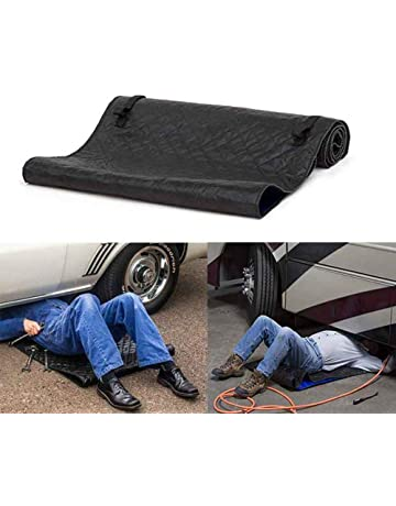 CWeep Rolling Creeper Pad, Car Mat Portable Automotive Creeper Rolling Creeper Pad Car Repair Tool