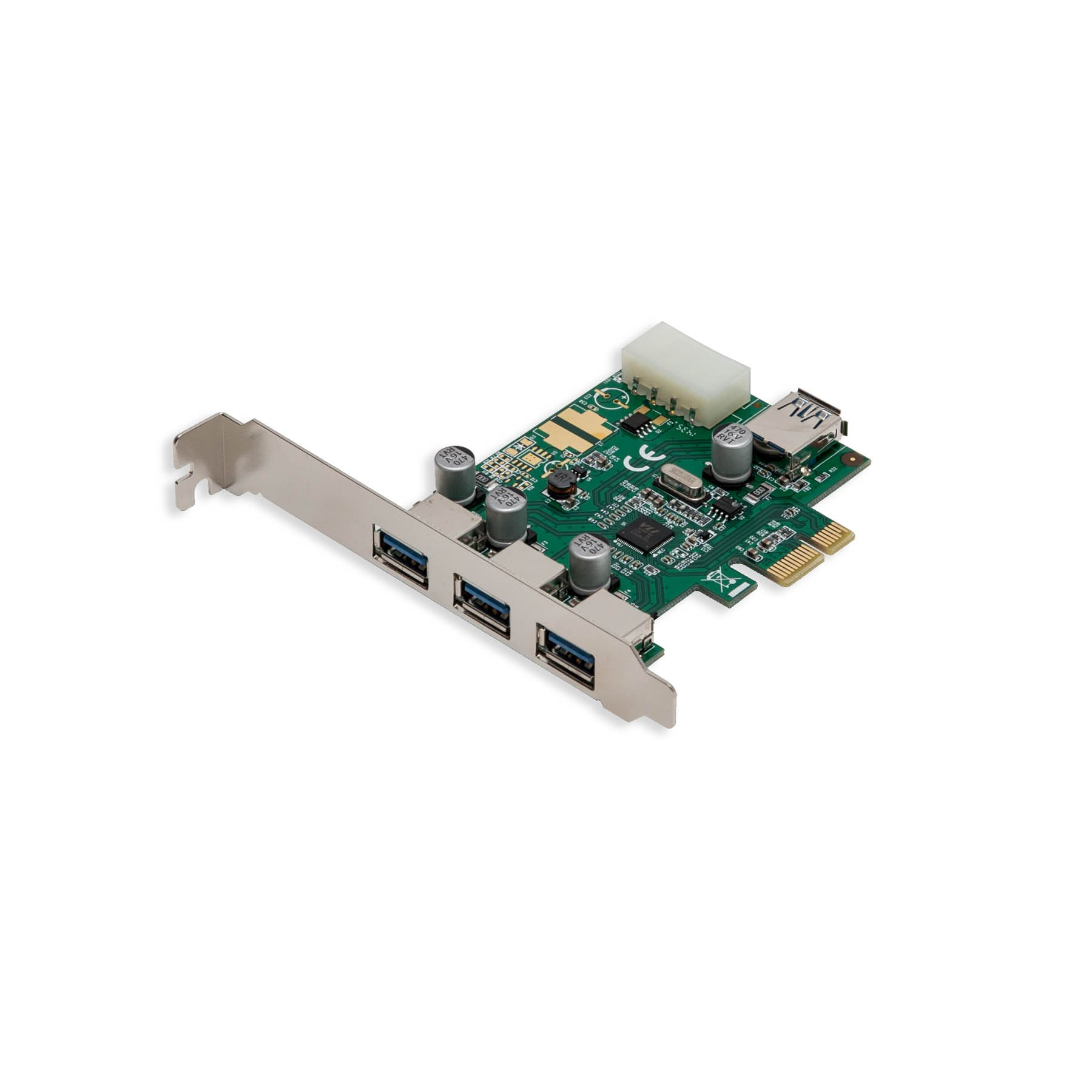 Syba 3 Port USB 3.0 PCI-e Card with 1 Internal USB 3.0 port