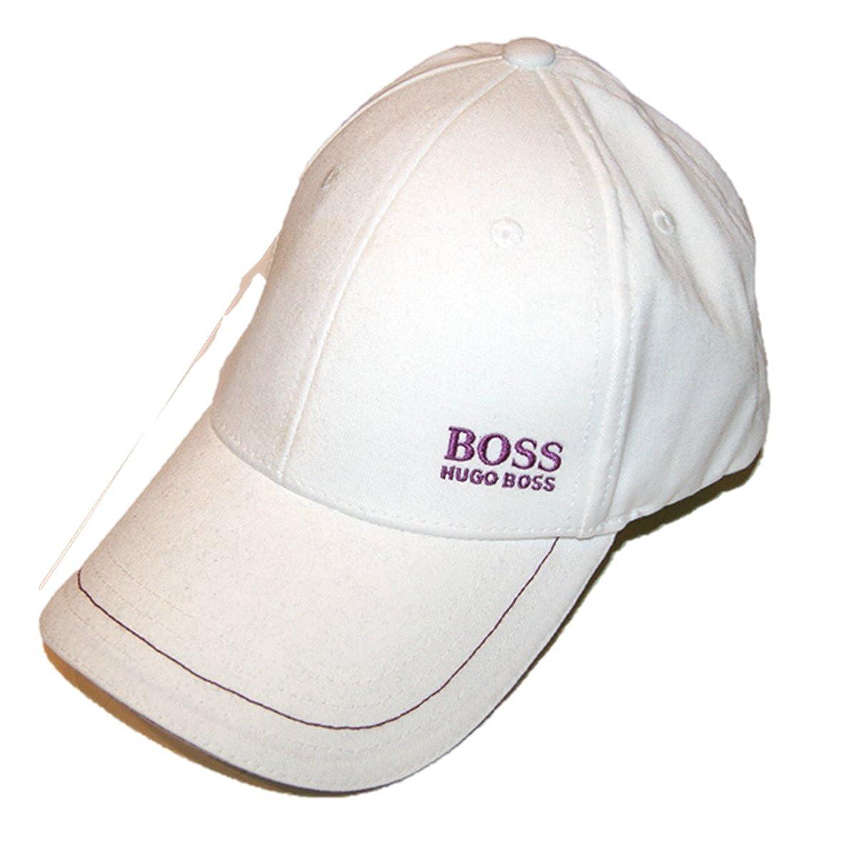 BOSS Green - Gorra de béisbol - para hombre blanco blanco: Amazon ...