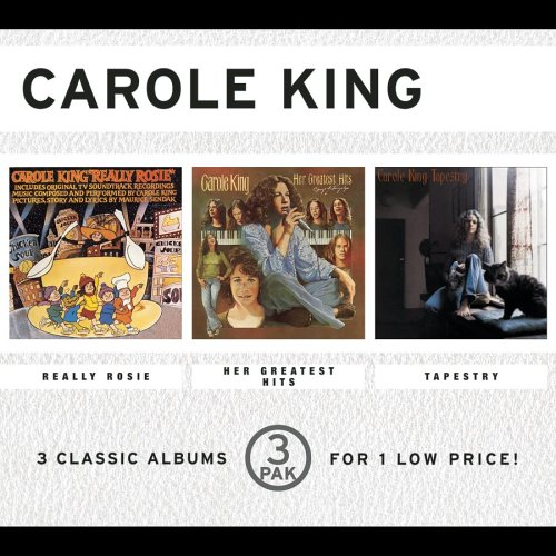 Carole King - Really Rosie/Her Greatest Hits/Tapestry