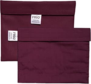 FRIO Extra Large Insulin Cooling Carrying Case/Wallet - Burgundy - Evaporative Cooler - Keeps Insulin Cool Without Ever Needing ice Packs or Refrigeration! Accept NO Imitation!-Low Shipping Rates-