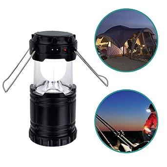 Lámpara de camping solar LED | Linterna LED recargable | Lámparas solares de exterior LED carga USB son útiles accesorios para camping, caravana, ...
