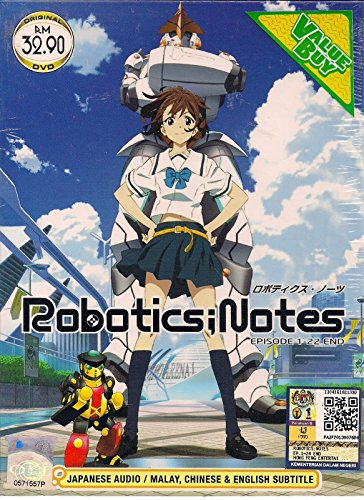 ROBOTICS;NOTES Japanses Anime 1-22 Eps / English Subtitle