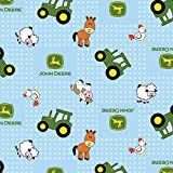 Springs Creative 46795-1600710 John Deere Flannel 42/43'' 100% Cotton 10yd D/R 15 yd