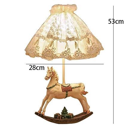 Amazon.com: AME Lámpara de techo francesa de mesa, modelo de ...